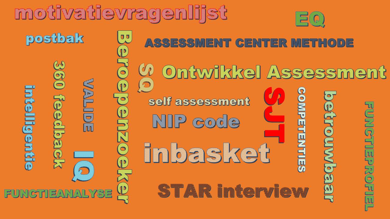 begrippenlijst assessment center