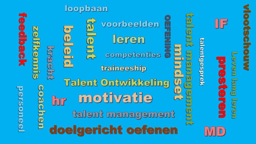 begrippenlijst talent