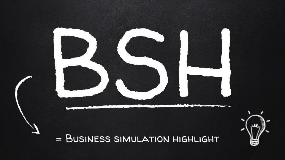 BUSINESS SIMULATION HIGHLIGHT